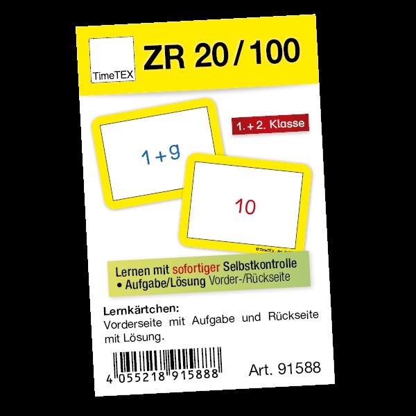 Kartenspiel für Papp-Computer, ZR bis 20/ZR bis 100