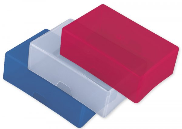 Kartenschachtel hoch, farbig