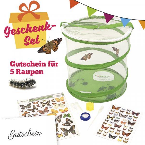 Schmetterlings-Geschenkset, kompakt, 8-tlg.