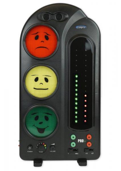 TimeTEX Lärm-Ampel mit Protokoll (LED)