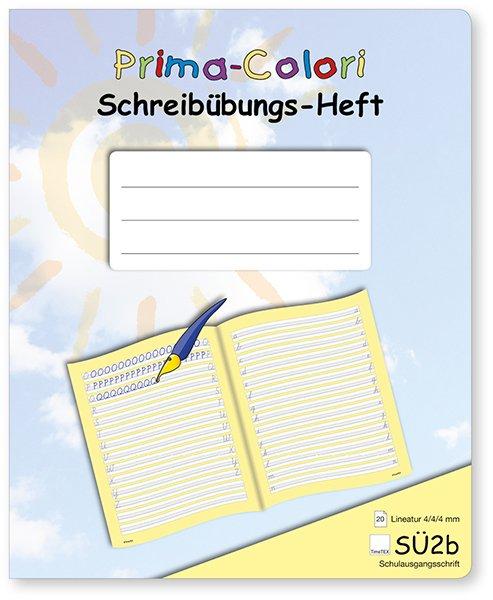 Prima-Colori Schreibübungs-Heft SÜ2b