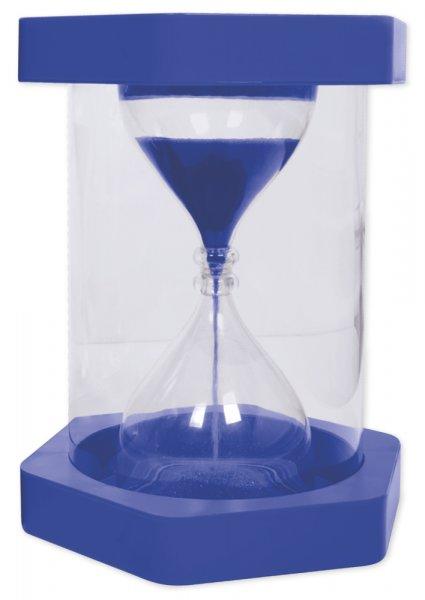 Sitz-Sanduhr, 5 Minuten, blau