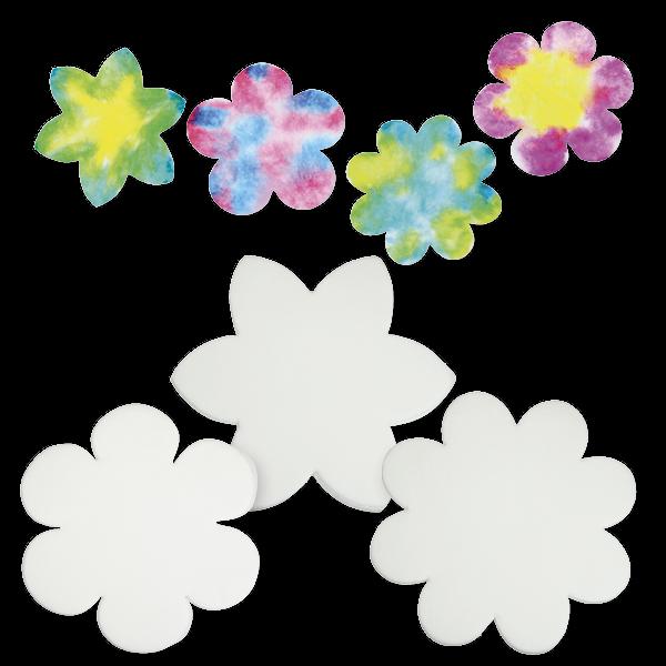 Effektpapier für Farbverläufe 80-tlg.