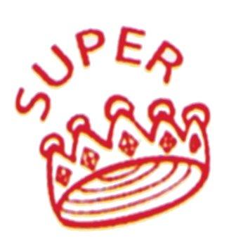 "Siebdruck-Stempel ""Perpetuum"", Krone super"""