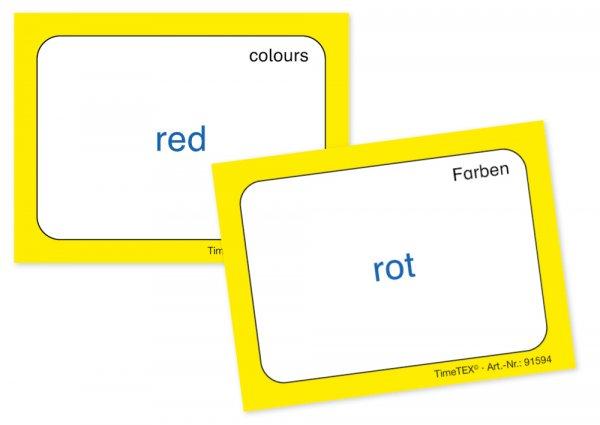 Kartenspiel für Papp-Computer, Englisch 1