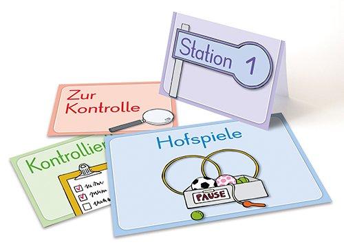"""Bildkarten/Schilder """"Mein Klassenraum perfekt organisiert"""", 160-tlg."""