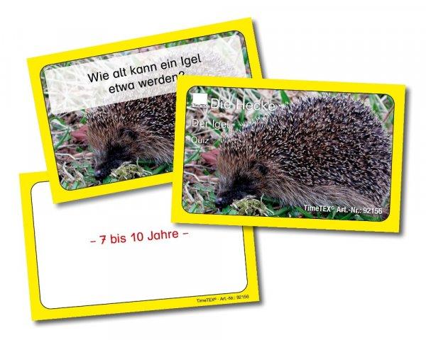 Kartenspiel: Igel-Quiz