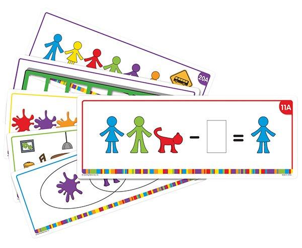 Aufgabenkarten für Familien-Figuren, 22-tlg.