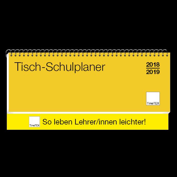 TimeTEX Tisch-Schulplaner 2018/2019, Querformat