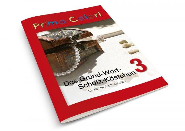 Heft Grundwortschatzkästchen 3