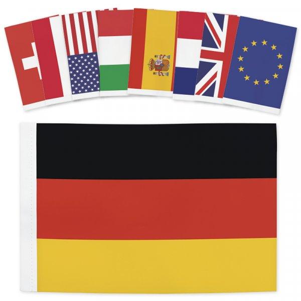 TimeTEX Tisch-Fahne, ca. 22,5x15 cm