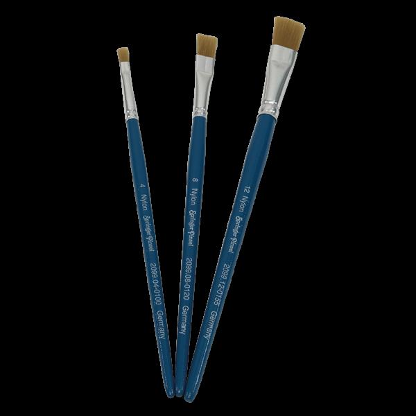 Flachpinsel-Set 3-tlg.
