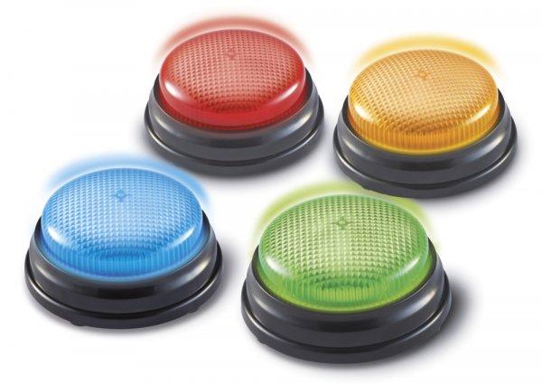 Antwort-Signale 4-tlg. (Buzzer), Licht & Signaltöne