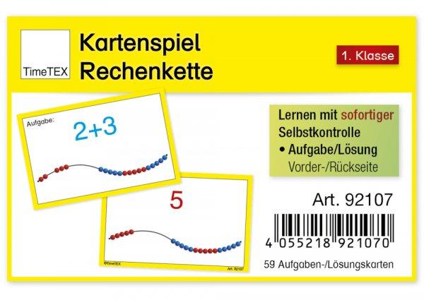 "Kartenspiel ""Rechenkette"", 60-tlg."