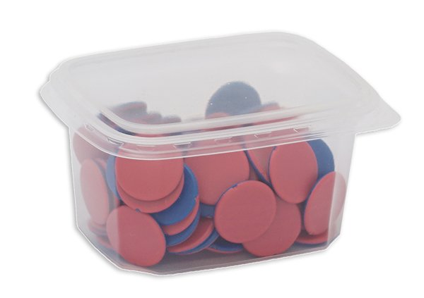 Set Material-Boxen aus Kunststoff, 10 Stk., 86x112x56 mm
