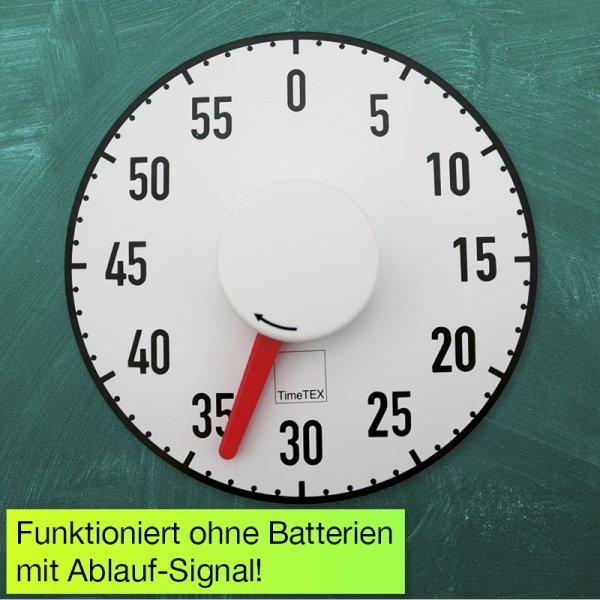 """Tafel-Zeitdauer-Uhr """"Automatik"""" magnetisch, 190 mm ø"""