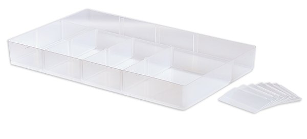 Einsatz für Kunststoff-Box stapelbar, transparent A4/A4 XL