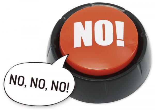 """Antwort-Signal (Buzzer) """"No"""""""