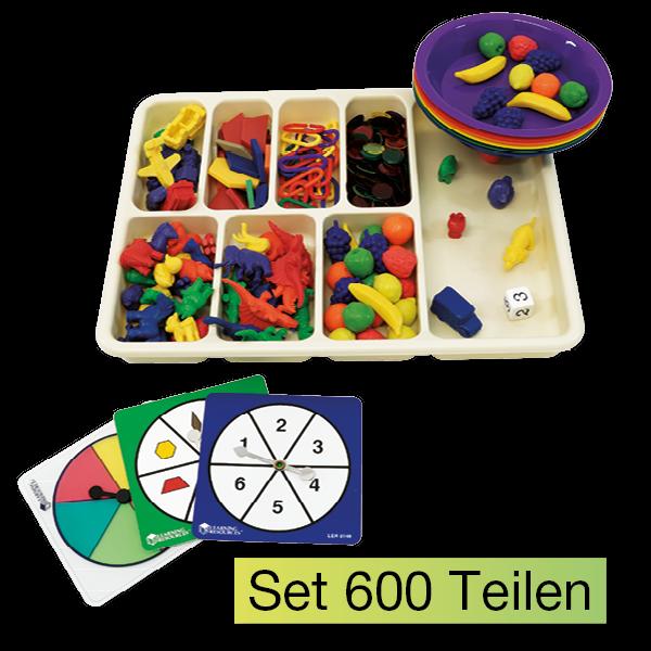 Sortier-Set XXL, 600-tlg., Multifunktional