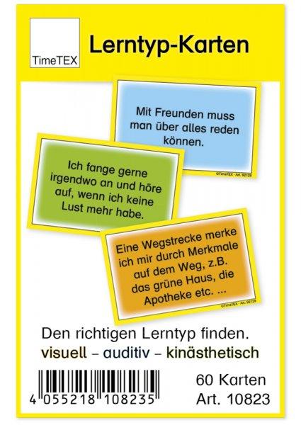 Lerntyp-Karten, 60-tlg., in Etui