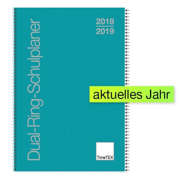 Dual-Ring-Schulplaner A4 2018/2019