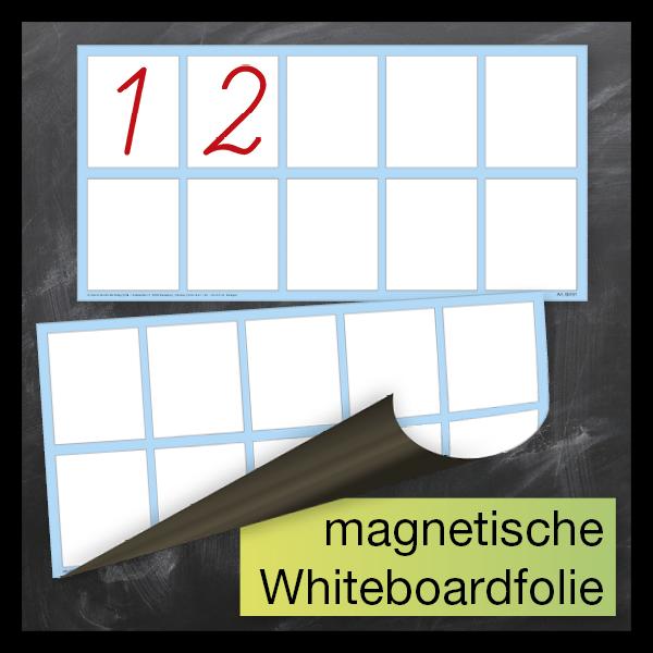 TimeTEX Whiteboard-Demo-Rechenkästchen, magnetisch, 2-tlg