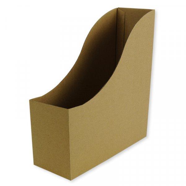 Set Stehsammler A4 aus Pappe, natur, 5 Stück