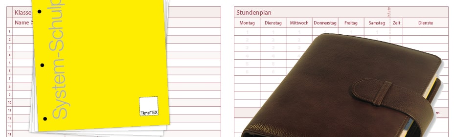 System-Schulplaner Ringbuch