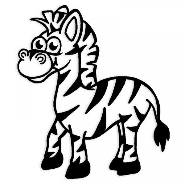 """Siebdruck-Stempel """"Perpetuum"""" rund """"Zebra"""""""