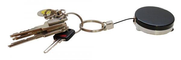 TimeTEX Schlüsselband-Aufroller mit Clip