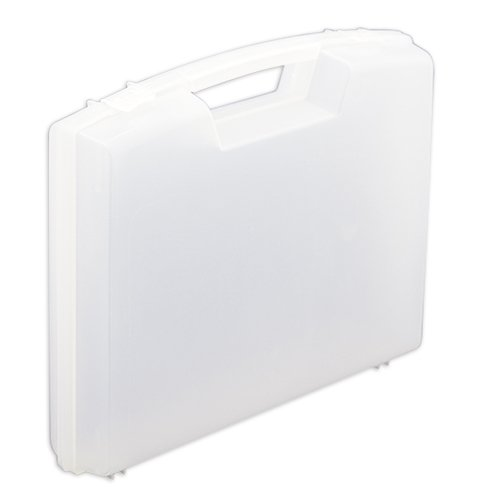 Kunststoff-Koffer leer, ca. 22x15x4,5 cm