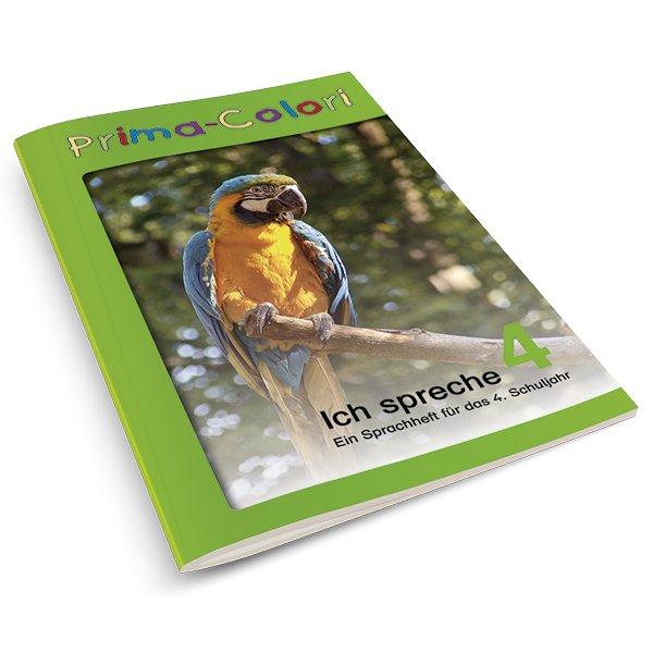 """Prima-Colori Heft """"Ich spreche"""" 4 / A4"""