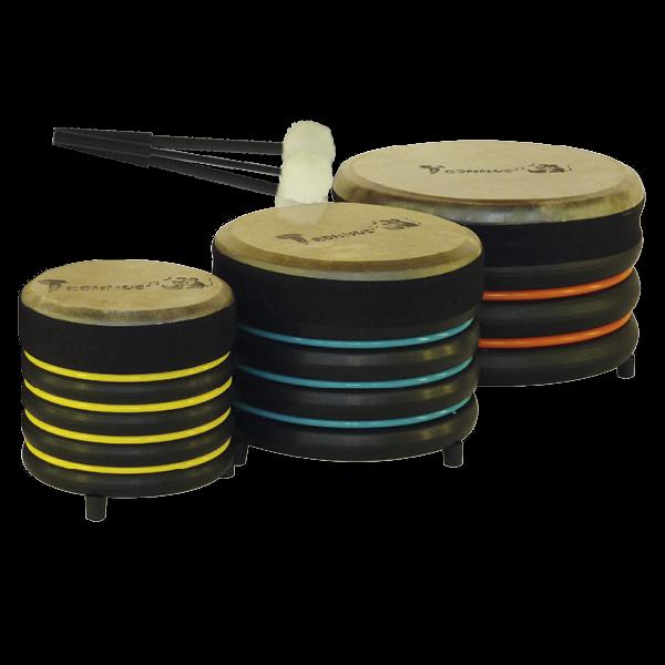 Set Universal-Trommeln, 3-tlg., 3 verschiedene Größen