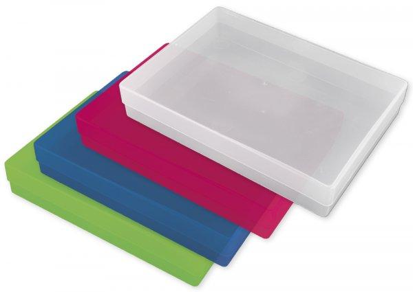 Kunststoff-Box A4 farbig