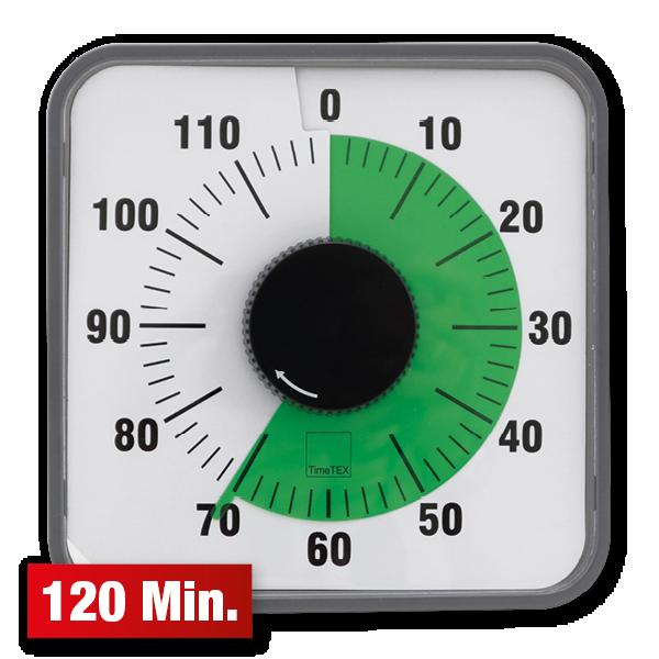 """timetex zeitdaueruhr """"automatik"""" 120 minuten magnetisch"""