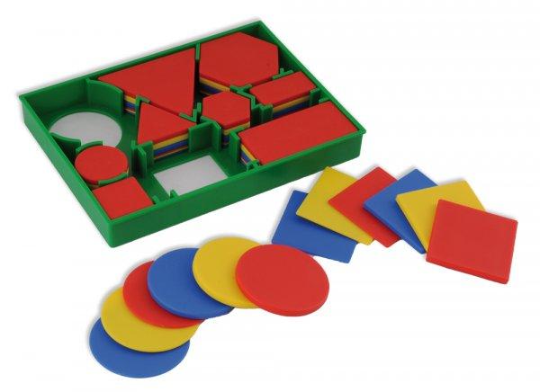Geometrie-Flächensatz in Box, 60-tlg.