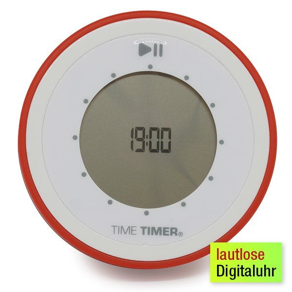 Zeitdauer-Uhr digital 90 Minuten, magnetisch, 85 mm ø