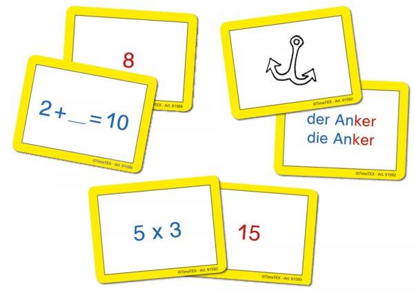 Set Karten-Spiel für Papp-Computer, 3-tlg.