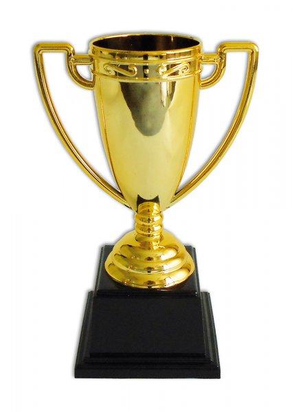 Pokal gold mit Sockel