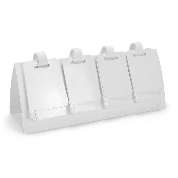 Klappen-Flipchart blanko, aus Kunststoff