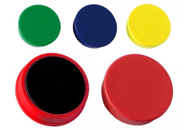 Haft-Magnete 21 mm ø, 10-er Box
