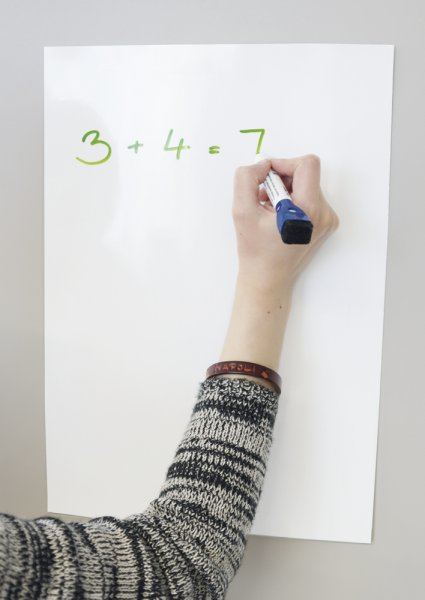 Whiteboard-Folie A3, selbstkl. + magnethaftend