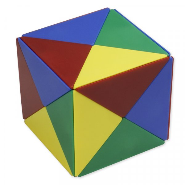 Magnetischer Würfel 8x8 cm, 24-tlg.
