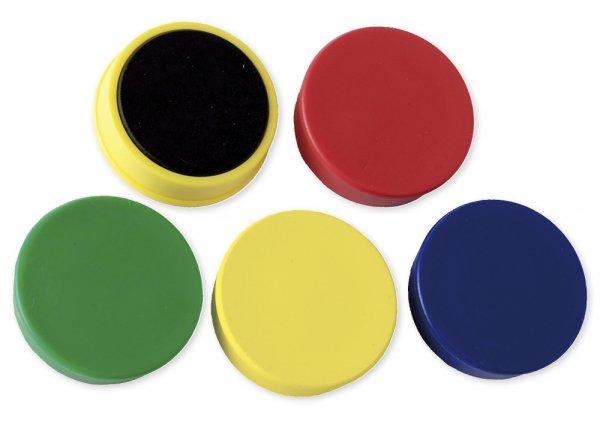 Set Haft-Magnete 21 mm ø, 4 x 10-er Box