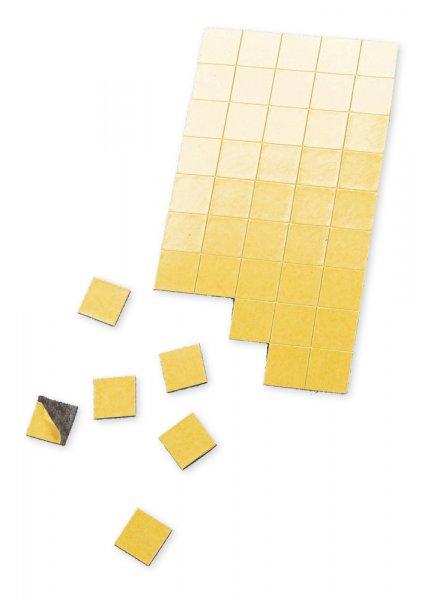 Magnet-Plättchen selbstkl., 10x10 mm, 200 Stck