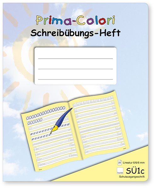 Prima-Colori Schreibübungs-Heft SÜ1c