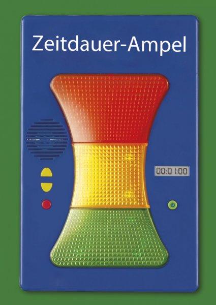 Zeitdauer-Ampel magnetisch, 17,5 cm lang