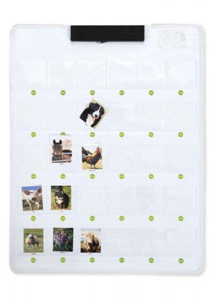 Interaktive Sprach-Rekorder-Tafel mit 30 Einstecktaschen