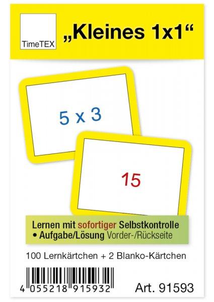 Kartenspiel für Papp-Computer, kleines 1x1