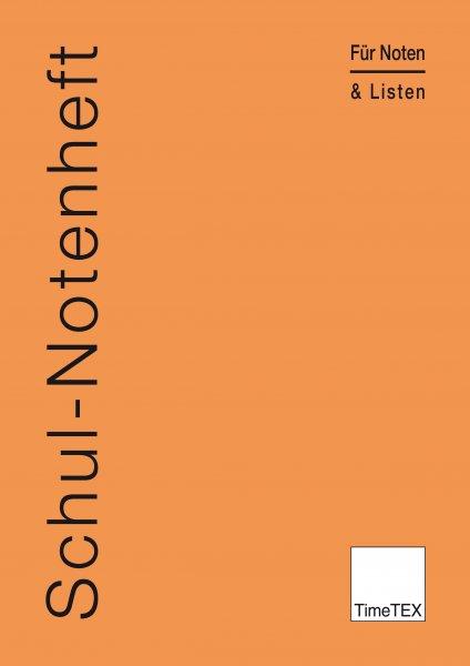 TimeTEX Schul-Notenheft A4